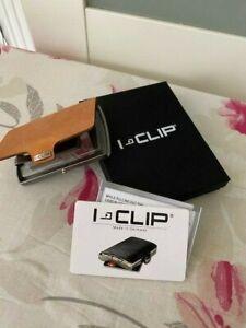 I - Clip Soft Touch Caramel Geldbörse Kartenhalter Geldbeutel