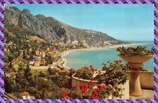 MENTON view on Garavan border of the'italy
