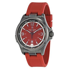 Victorinox Night Vision Red Dial Red Rubber Strap Ladies Watch 241717