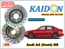 """AUDI A4 disc rotor KAIDON (front) type """"RS"""" spec"""
