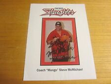 Steve McMichael Autographed/Signed 8.5X11 Photograph football NFL Chicago Bears