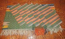 """Central American Tablecloth & Napkin Set~47"""" by 50""""~New~Fast Free Shipping!"""