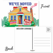 We've Moved Postcards - 50 Moving Announcement Postcards -17005