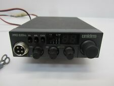 Uniden PRO520XL 40-Channel CB Radio No Mic With Bracket Untested