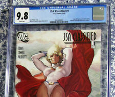 JSA Classified #1 CGC 9.8 Adam Hughes Variant Power Girl 1st Print HTF HOT RARE