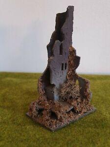 FALLER H0 291 Fertigmodell Holz Burgruine Ruine