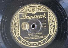 78rpm LEROY ANDERSON blue tango / belle of the ball