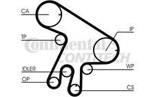 CONTITECH Kit de distribución TOYOTA COROLLA AVENSIS RAV PREVIA CT1043K1