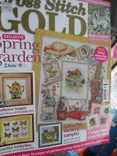 Cross Stitch Gold UK 2010 Magazine #47-Butterflies/Sunflower Teapot/Unicorn/Old