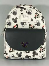 More details for disney loungefly - mickey and minnie mouse cupcake - mini backpack (new)