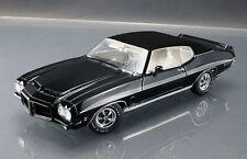 1972 PONTIAC LeMANS GTO ACME STARLIGHT BLACK / VINYL TOP 1:18 GMP VINTAGE CAR