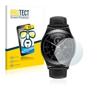 Samsung Gear S2 Classic Smart Watch, 2x  BROTECT® HD-Clear Screen Protector
