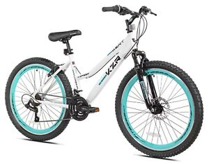 Kent Bicycles 26 In. KZR Mountain Women's Bike, WhiteTeal In Hand! Ships Fast!