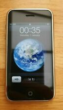 APPLE IPHONE 2G 1ST GENERATION 8GB O2 GOOD CONDITION RARE COLLECTORS ITEM DEAL