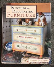 Painting and Decorating Furniture by Sheila McGraw HBDJ Craft Book 1997 Freeship