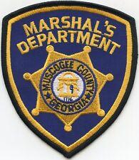 MUSCOGEE COUNTY GEORGIA GA MARSHAL sheriff police PATCH