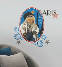 The Muppets Miss Piggy Figure Giant Peel and Stick Wall Decals NEW SEALED