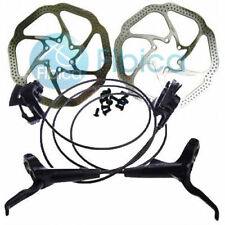 Avid DB 1 Db1 MTB Hydraulic Disc Brake Set Elixir Hs1 Rotors Black