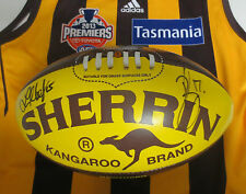 Hawthorn FC - 2013 Premiership Football hand signed by L.Hodge & B.Lake + COA