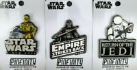 STAR WARS ORIGINAL TRILOGY AR AUGMENTED REALITY PIN BADGES (SET OF 3) BRAND NEW!