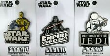 More details for star wars original trilogy ar augmented reality pin badges (set of 3) brand new!