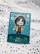 🌱Series 3 #213 Digby Amiibo Card Animal Crossing New Horizons Nintendo