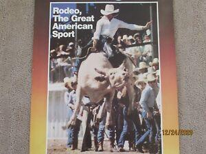Wrangler Jeans PRCA Rodeo 1982 North Washington, Pa. Sheldon Advertising Poster