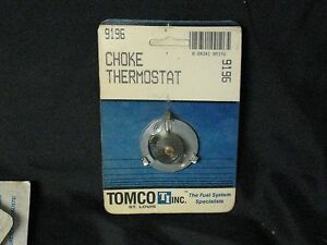 NOS Tomco Choke Thermostat #9196 77-79 Ford Mercury models w/140 eng,Holley 2 Bb