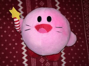 "CUSTOM 8"" KIRB Kirby Plush Toy Figure Doll Unofficial NEW 1993 Kirby's Adventure"