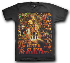 The Devil's Rejects Rob Zombie Large Horror Movie T Shirt