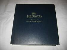 Beethoven Complete String Quartets Pascal 15 LP set Concert Hall Ruins of Athens