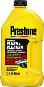 Prestone AS105 Radiator Flush and Cleaner - 22 oz.