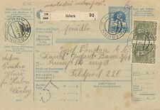 Post-Begleitadresse 1916 aus Habern-Habry an die Feldpost 220  (B35)