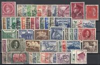 X4569/ GERMANY REICH – 1905 / 1942 USED SEMI MODERN LOT – CV 420 $