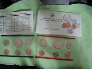 1989 United States Mint Uncirculated Coin Set P&D