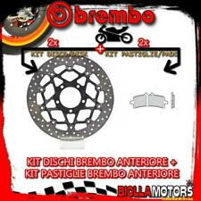 KIT-6BOK DISCO E PASTIGLIE BREMBO ANTERIORE TRIUMPH SPEED TRIPLE R ABS 1050CC 20