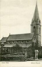 PRINTED POSTCARD OF CHRIST CHURCH, EBBW VALE, MONMOUTHSHIRE, WALES