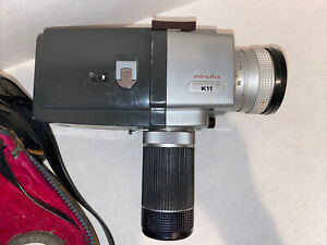 Minolta Autopak 8 K11 Vintage Super 8 Camcorder With Bag Manual Filters As Is