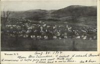 Worcester NY General View c1905 Postcard