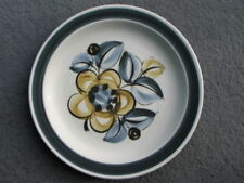 Mid-Century Modern Pottery Dinner Plates