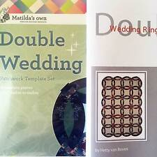 Matilda's Own Double Wedding Ring Patchwork Template Set and Booklet