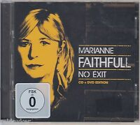 MARIANNE FAITHFULL / NO EXIT - CD + DVD Edition (NEU! Original verschweißt)