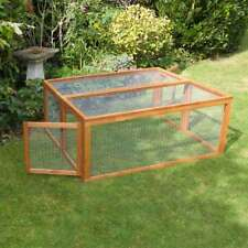 Large 4ft Canterbury Folding Rabbit Run Guinea Pig Run Collapsable Cage Pen Run