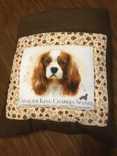 New Handmade King Charles Spaniel Quillow (Pillow w/ 6ft long quilt inside!)