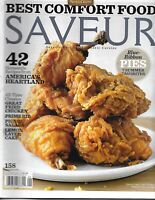 Saveur Magazine Best Comfort Food Homestyle Recipes Fried Chicken Prime Rib Cake