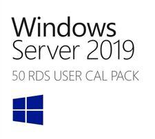 Windows Server 2019 50 USER CALS RDS Remote Desktop Services Key - Fast Deliery