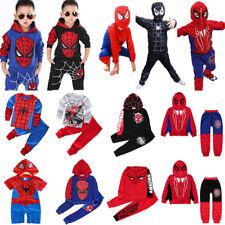 Spiderman Chándal Trajes Niño bebé Sudaderas top + Pantalones Disfraz ropa set