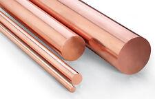 Round bar Copper Rod C101 10mm x 460mm model making machining supplies