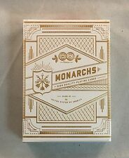 White Gold Monarch V2 Deck - Theory11 Playing Cards