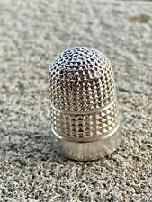 Sterling Silver Thimble - George Green - Chester - 1895